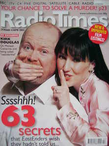 <!--2003-03-29-->Radio Times magazine - Steve McFadden and Kacey Ainsworth