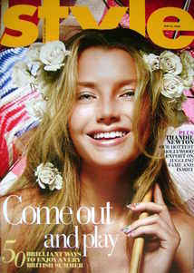 <!--2009-05-24-->Style magazine - Come Out And Play cover (24 May 2009)