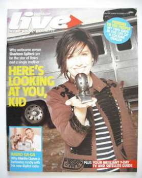 Live magazine - Sharleen Spiteri cover (4 December 2005)