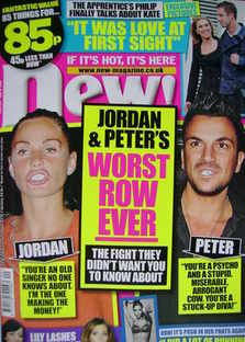 <!--2009-05-18-->New magazine - 18 May 2009 - Jordan and Peter Andre cover