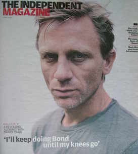 The Independent magazine - Daniel Craig cover (2 May 2009)