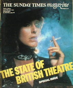 <!--1978-11-26-->The Sunday Times magazine - Maria Aitken cover (26 Novembe