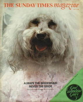 <!--1980-07-27-->The Sunday Times magazine - Always The Bridesmaid cover (2