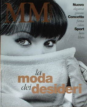 MM magazine - Autumn/Winter 1993/1994 - Carla Bruni cover