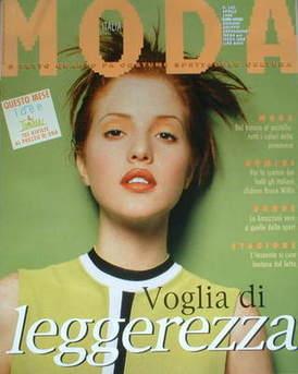 Moda Italia magazine - April 1996