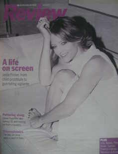 Review magazine - Jodie Foster cover (16 September 2007)