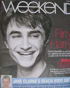 <!--2007-06-23-->Weekend magazine - Daniel Radcliffe cover (23 June 2007)