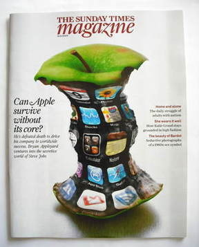 <!--2009-08-16-->The Sunday Times magazine - Can Apple Survive Without Its