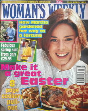 <!--1993-04-13-->Woman's Weekly magazine (13 April 1993)