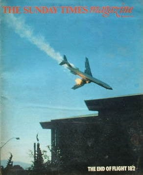 <!--1978-10-22-->The Sunday Times magazine - The End Of Flight 182 cover (2