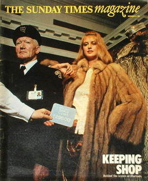 <!--1981-12-08-->The Sunday Times magazine - Behind The Scenes At Harrods c
