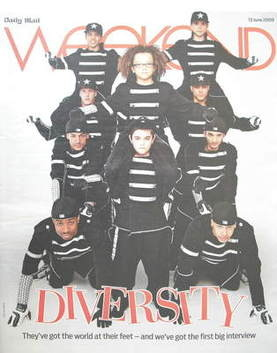 Weekend magazine - Diversity cover (13 June 2009)