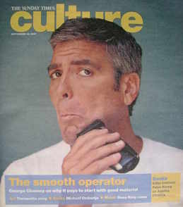 <!--2007-09-16-->Culture magazine - George Clooney cover (16 September 2007
