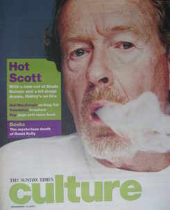 <!--2007-11-11-->Culture magazine - Ridley Scott cover (11 November 2007)