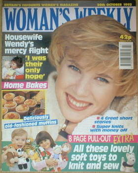 <!--1992-10-20-->Woman's Weekly magazine (20 October 1992)