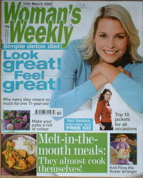 <!--2007-03-13-->Woman's Weekly magazine (13 March 2007 - British Edition)