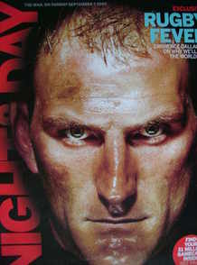Night & Day magazine - Lawrence Dallaglio cover (7 September 2003)
