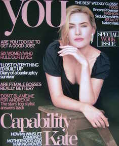 <!--2007-10-07-->You magazine - Kate Winslet cover (7 October 2007)