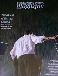 <!--2008-11-23-->The Sunday Times magazine - Barack Obama cover (23 Novembe