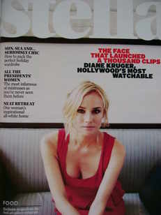<!--2009-05-31-->Stella magazine - Diane Kruger cover (31 May 2009)