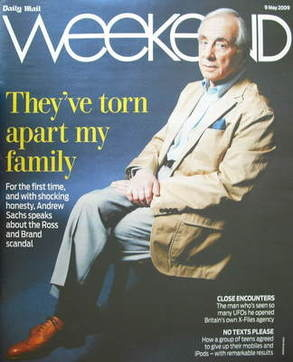 Weekend magazine - Andrew Sachs cover (9 May 2009)