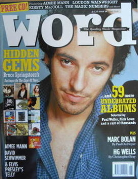 The Word magazine - Bruce Springsteen cover (June 2005)