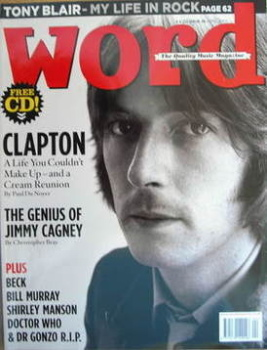 The Word magazine - Eric Clapton cover (April 2005)