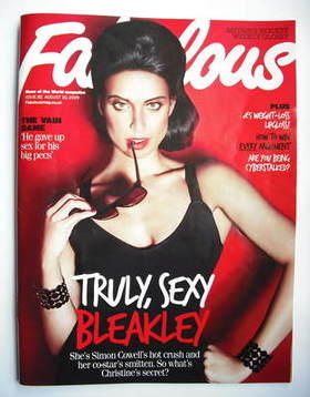 <!--2009-08-30-->Fabulous magazine - Christine Bleakley cover (30 August 20