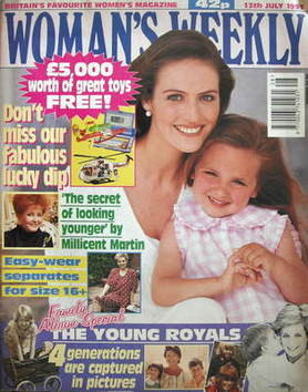 <!--1993-07-13-->Woman's Weekly magazine (13 July 1993)