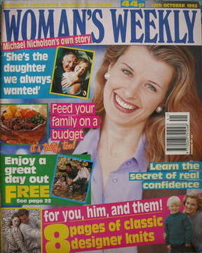 <!--1993-10-12-->Woman's Weekly magazine (12 October 1993)