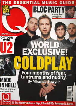 <!--2005-06-->Q magazine - Coldplay cover (June 2005)