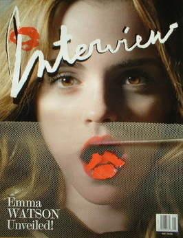 <!--2009-05-->Interview magazine - May 2009 - Emma Watson cover