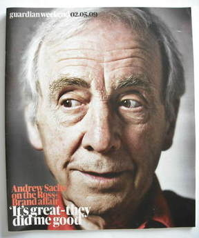 The Guardian Weekend magazine - 2 May 2009 - Andrew Sachs cover