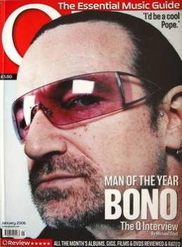 Q magazine - Bono cover (January 2006)