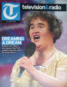 Television&Radio magazine - Susan Boyle cover (23 May 2009)