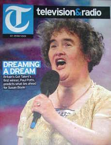 Television&Radio magazine - Susan Boyle cover (23 May 2009)