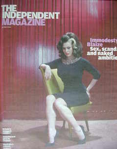 The Independent magazine - Immodesty Blaize cover (30 May 2009)