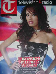 Television&Radio magazine - Jade Ewen cover (16 May 2009)