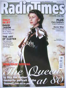 <!--2006-04-08-->Radio Times magazine - The Queen cover (8-14 April 2006)