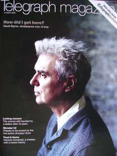 <!--2009-03-14-->Telegraph magazine - David Byrne cover (14 March 2009)