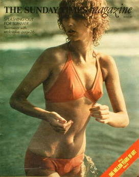 <!--1973-07-22-->The Sunday Times magazine - Splashing Out For Summer cover