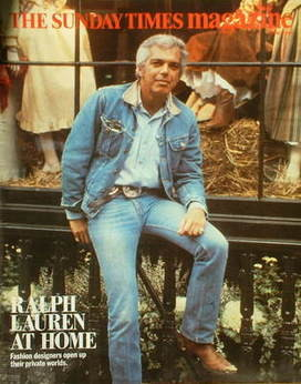 <!--1984-06-17-->The Sunday Times magazine - Ralph Lauren cover (17 June 19