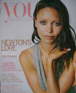 <!--2004-08-22-->You magazine - Thandie Newton cover (22 August 2004)