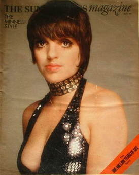 <!--1973-07-01-->The Sunday Times magazine - Liza Minnelli cover (1 July 19