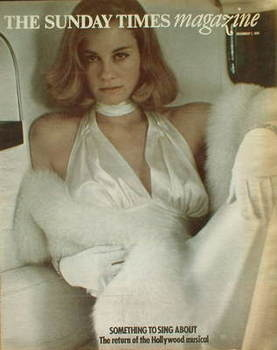<!--1974-12-01-->The Sunday Times magazine - Cybill Shepherd cover (1 Decem