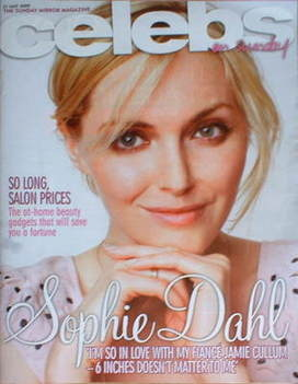 <!--2009-05-31-->Celebs magazine - Sophie Dahl cover (31 May 2009)