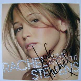 Rachel Stevens autograph