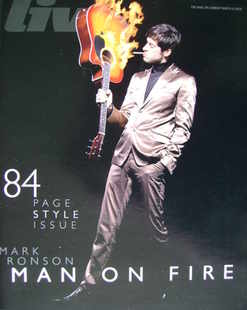 <!--2008-03-09-->Live magazine - Mark Ronson cover (9 March 2008)