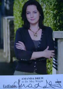 Amanda Drew autograph (ex EastEnders actor)