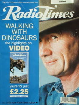 <!--1999-10-16-->Radio Times magazine - Michael Palin cover (16-22 October